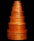 artwork by Carl Newton Bentwood Box Maker